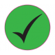 Quality Inspection 'Green Tick' Labels