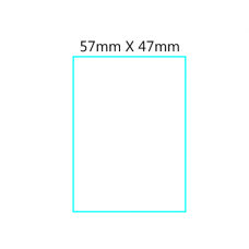 Thermal Scale Label-  57mm X 47mm