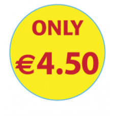 'Only €4.50'