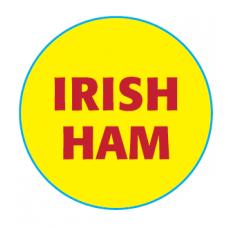 Butcher Label 'Irish Ham'
