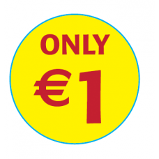 'Only €1'