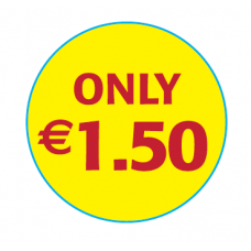 'Only €1.50'