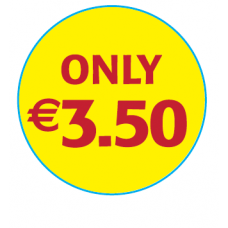 'Only €3.50'