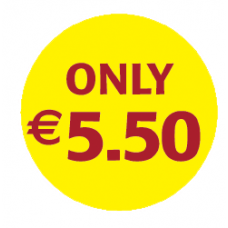 'Only €5.50'