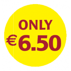 'Only €6.50'