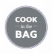'Cook in the Bag' - 38mm Flash Label